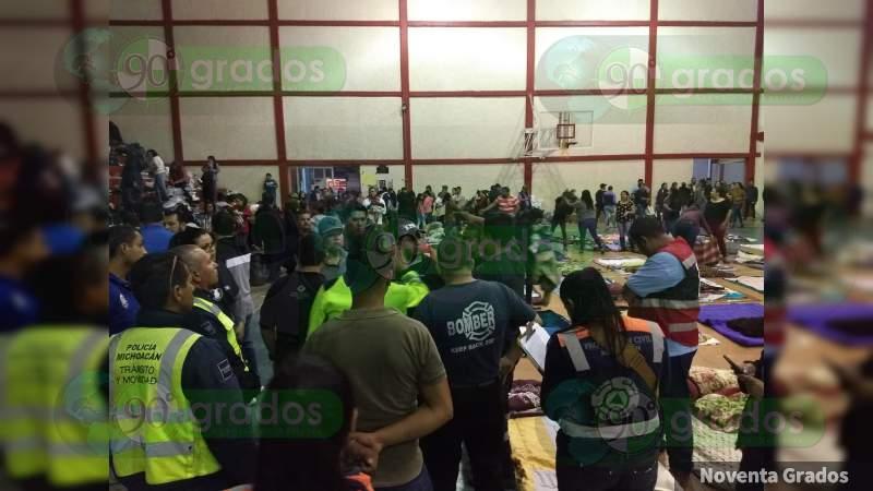 Reportan siete desaparecidos por tromba mortal en Peribán, Michoacán