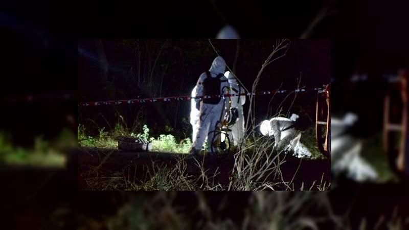 Maniatado, con huellas de violencia y con el tiro de gracia, encuentran a un hombre en Morelia, Michoacán