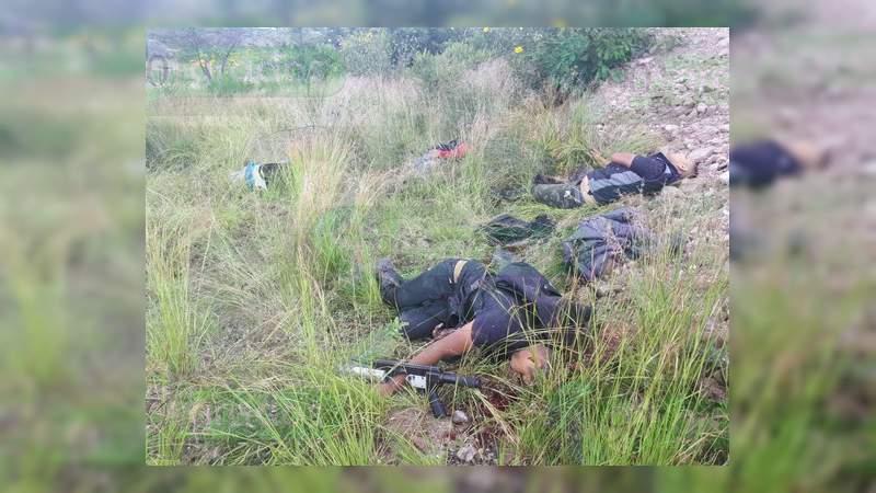 Gobierno de Guanajuato confirma 10 muertos y cuatro heridos en balaceras en Jerécuaro y Apaseo el Alto