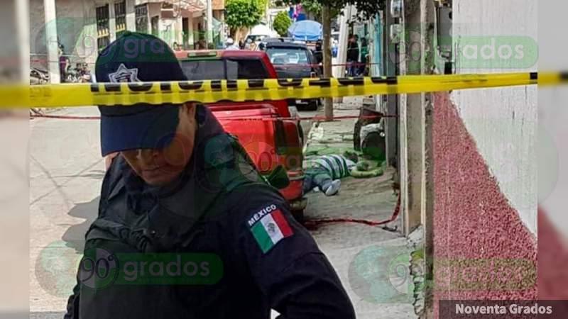 Balacera en fiesta en Jacona, hay tres muertos y dos heridos