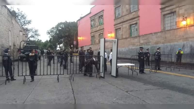 Comienza operativo por desfile del aniversario de Morelos