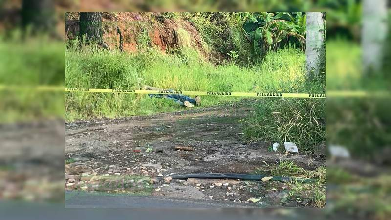 Localizan un cadáver en Uruapan