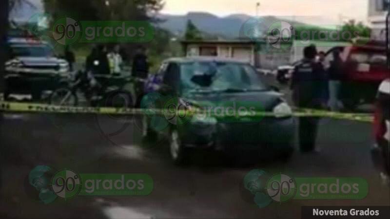 Dos motociclistas muertos y uno herido al ser atropellados en Peribán