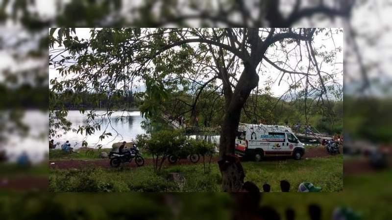 Muere adolescente al ahogarse en una presa en Jacona, Michoacán