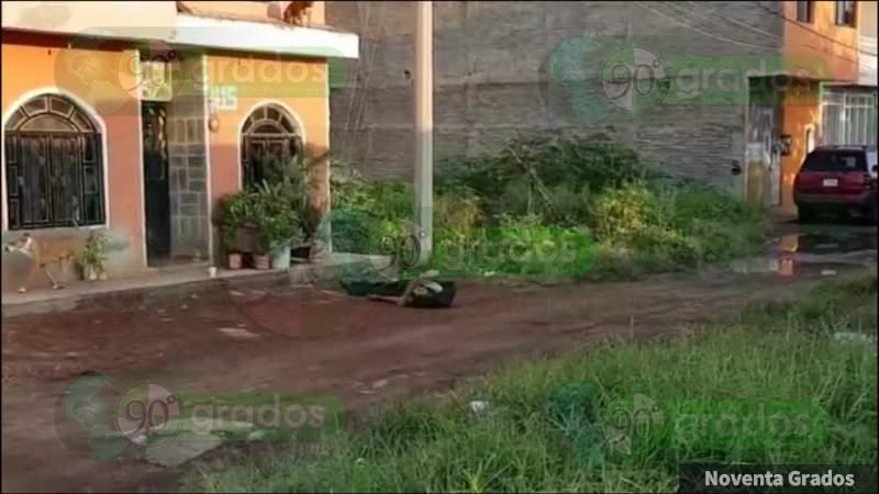 Asesinan a un individuo en Zamora, Michoacán