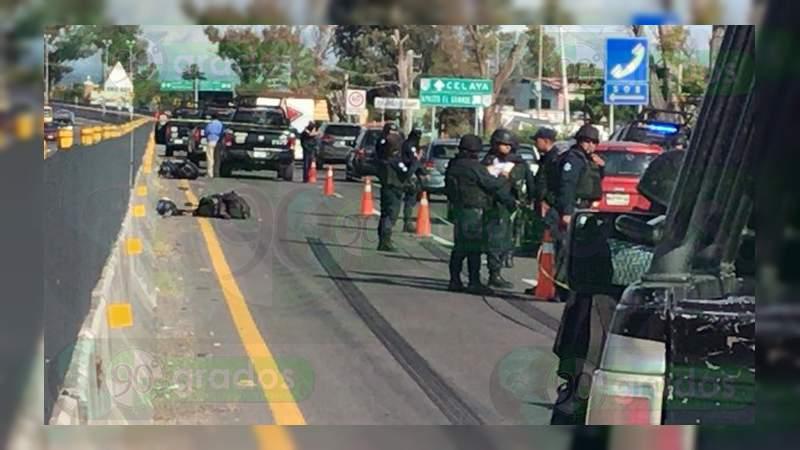 Asesinan a un policía estatal en Apaseo el Grande, Guanajuato