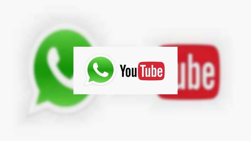Ahora podrás reproducir los videos de YouTube sin salir de WhatsApp