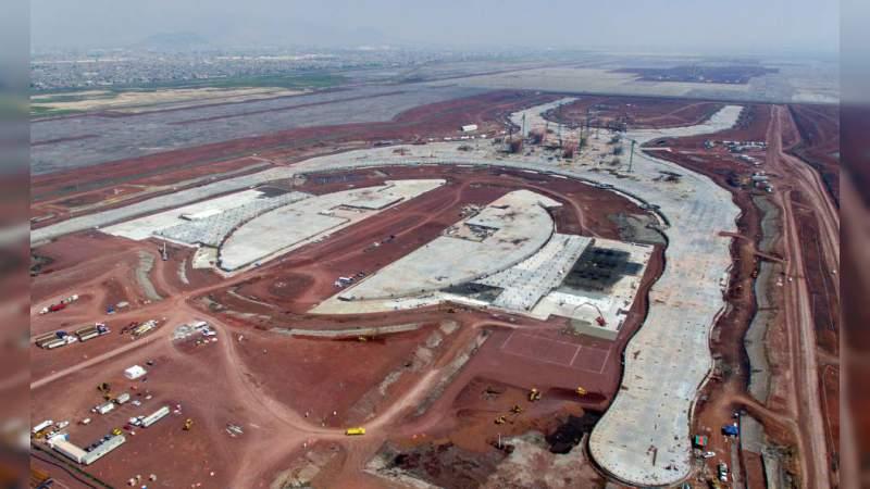 88 mil millones faltantes para el Nuevo Aeropuerto no se pedirán a la federación: Director de Infraestructura