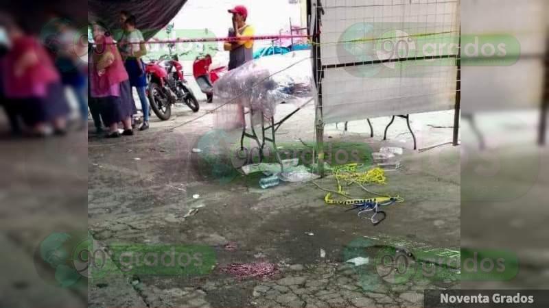 Zamora, Michoacán: Balean a un hombre y su menor hijo, el adulto muere en el hospital