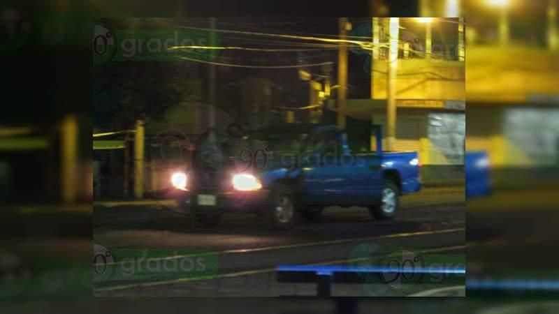 Muere un hombre y otro resulta herido, al ser atacados a balazos en Jacona