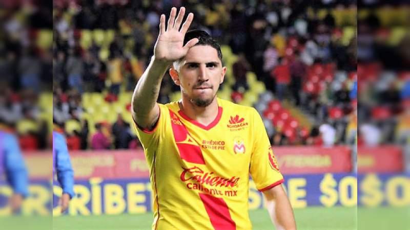 Diego Valdés, de Monarcas, podría jugar hoy contra México