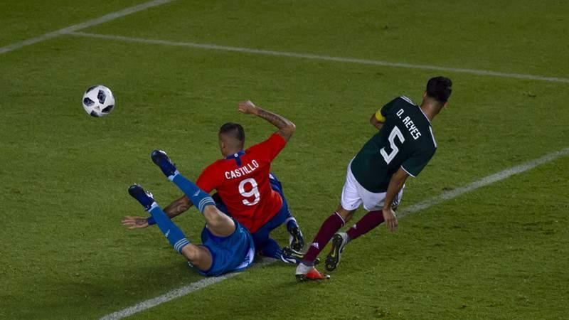 El Tri volvió a perder con Chile