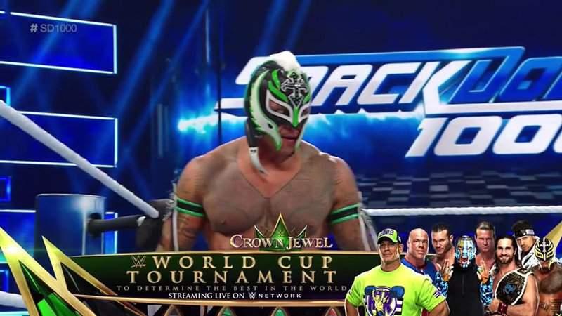 Rey Mysterio regresó a WWE