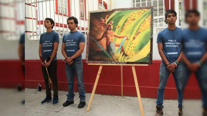 Greenpeace reconoce el compromiso de López Obrador y le pide proteger el maíz