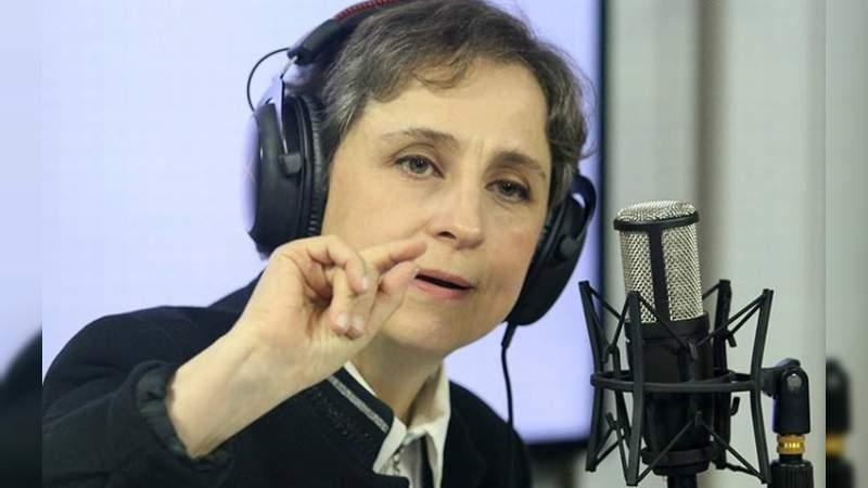 Carmen Aristegui regresó a la radio
