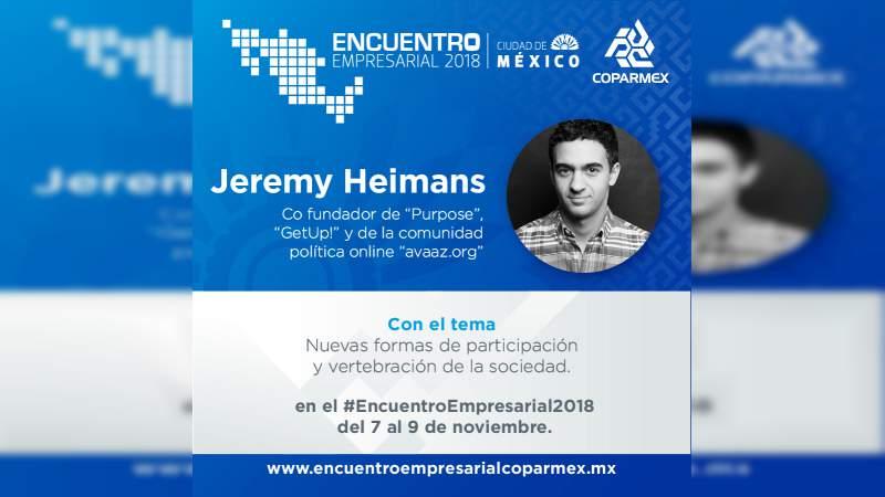 Cómo vertebrar a la sociedad, tema relevante del encuentro empresarial COPARMEX 2018