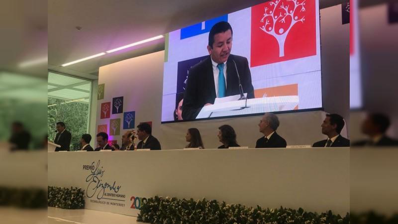 Premio Luis Elizondo al Sentido Humano Tecnológico de Monterrey 2018, para el colectivo CEJUDE de la Casa de Hidalgo