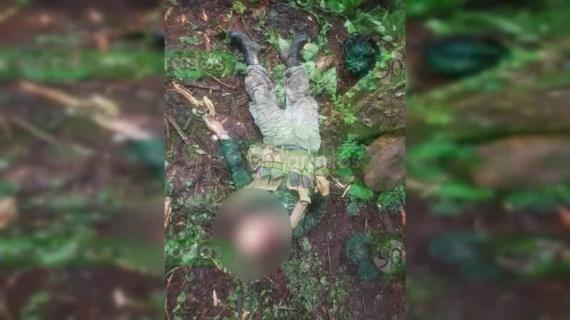 Militares dan con narcocampamento y abaten a dos sicarios en Salvador Escalante