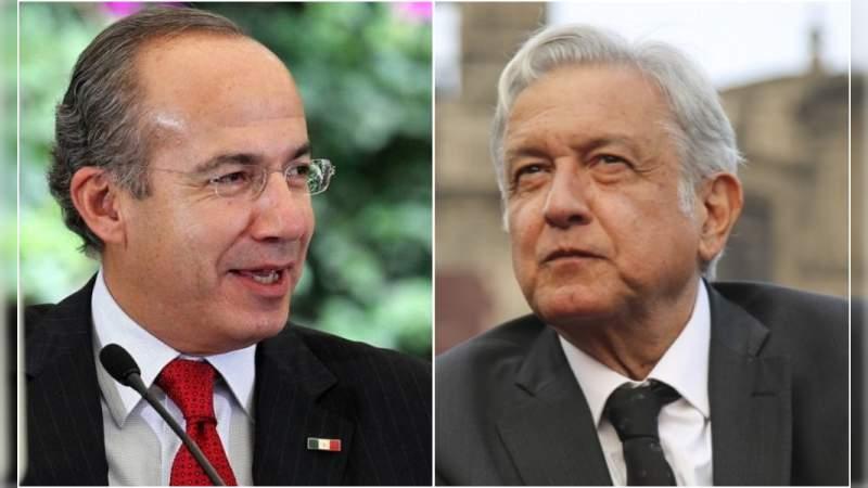 Felipe Calderón lanza mensaje a AMLO por quitarle su pensión