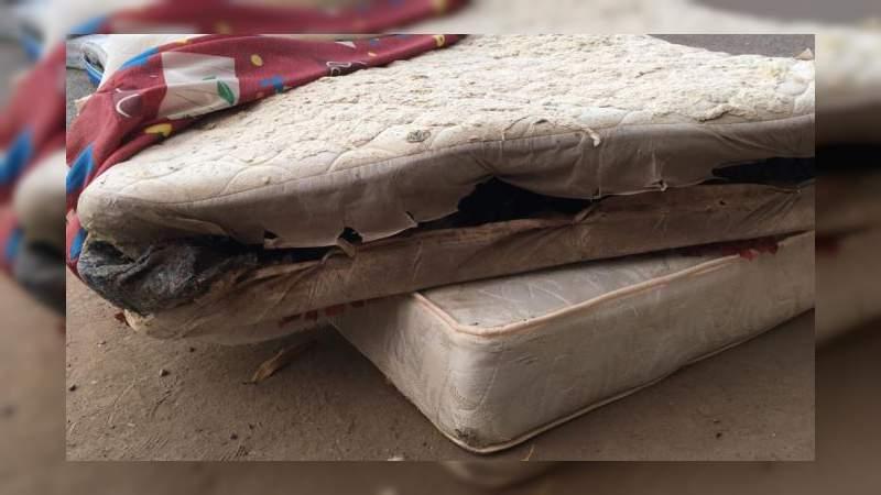 Detienen a implicado en la entrega de colchones podridos en Sinaloa