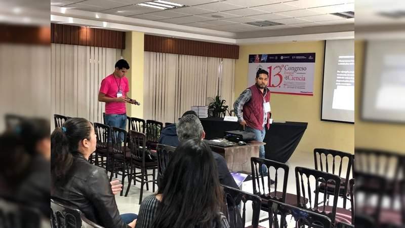 OSC´s juveniles presentan el primer observatorio juvenil en Michoacán durante el congreso estatal de ciencia y tecnología