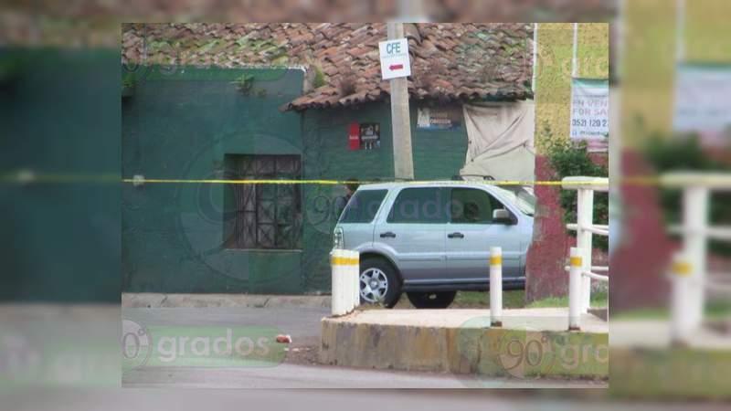 Asesinan a un conductor en Jacona, Michoacán