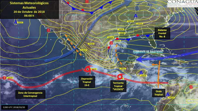 Seguirán las lluvias este sábado en Morelia