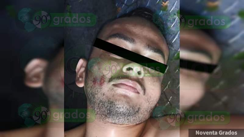 """Abaten a """"El Samy"""" en enfrentamiento contra la Policía Michoacán en Lombardía, Michoacán"""