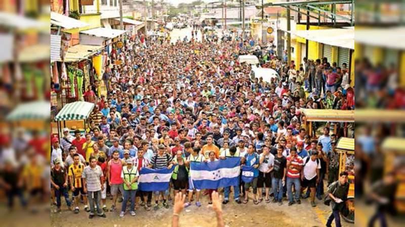 México recibió 640 peticiones de refugio por la caravana migrante