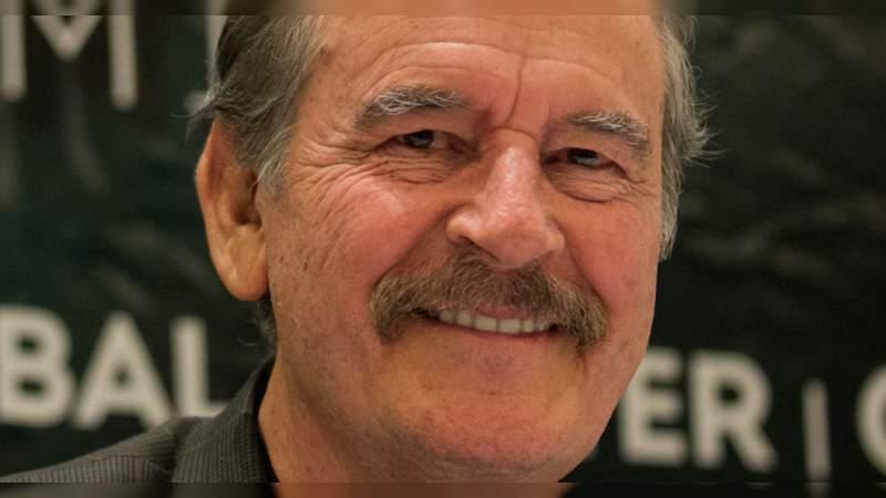 Deja a un lado la soberbia: Fox a López Obrador