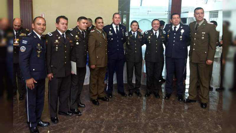 Michoacán comparte experiencia en formación policial a nivel internacional.