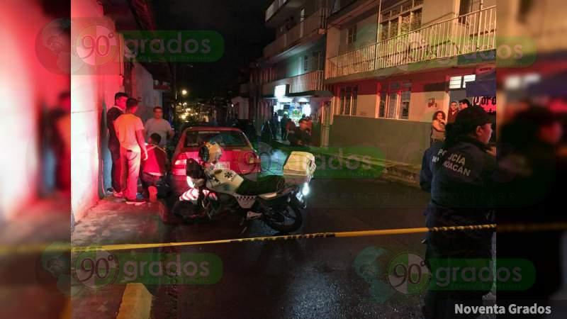 Michoacán: Balean bar en Uruapan, habrían dos muertos
