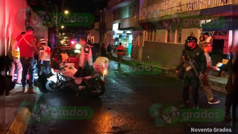 Uruapan: Confirman un muerto y dos heridos en ataque armado en bar de Michoacán