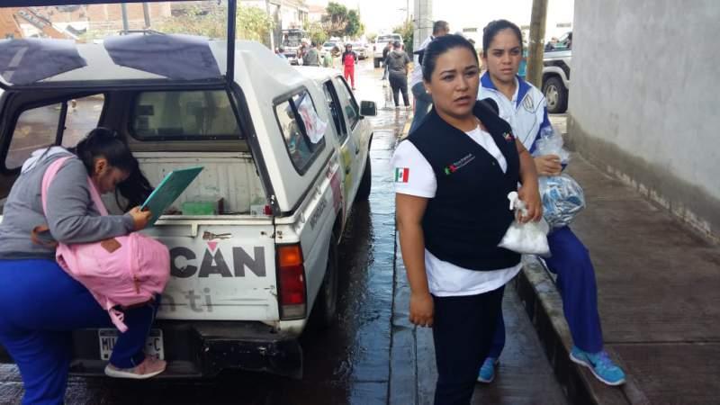 Realiza SSM vigilancia epidemiológica en más de 500 viviendas de Morelia