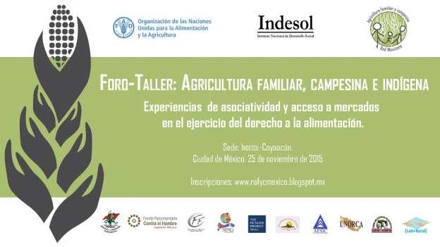Pequeños productores agrícolas dialogarán sobre asociatividad