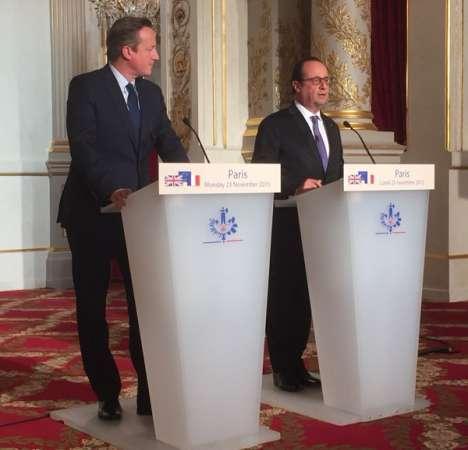 En gira el Presidente de Francia en busca de apoyo contra el Estado Islámico
