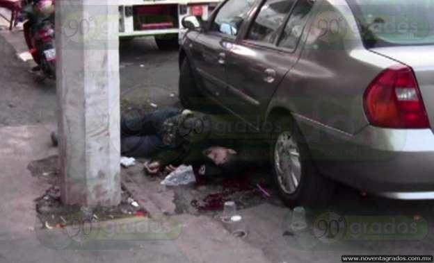 Asesinan a dos personas en mercado de Zamora, Michoacán