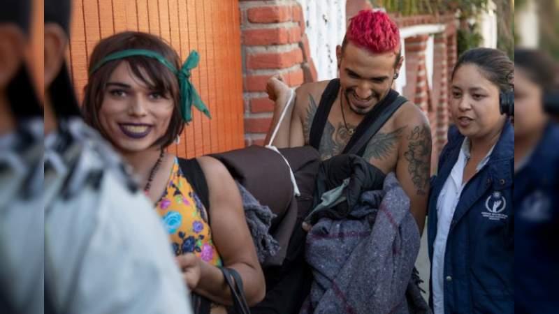Primer grupo llega a Tijuana, en la frontera con #EEUU — CaravanaDeMigrantes