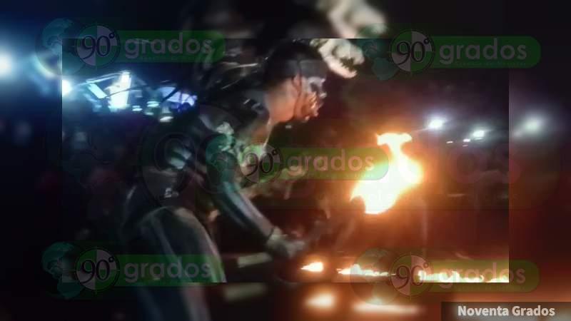 Realizan Marcha de las Luminarias por 128 Aniversario del Panteón de Celaya, Guanajuato