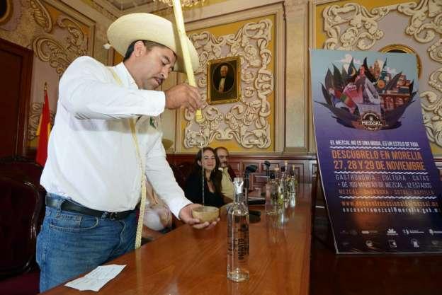 Este viernes, el II Encuentro Nacional del Mezcal, en Morelia