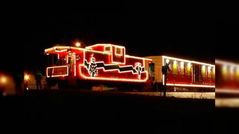 Tren Navideño llegará a Morelia