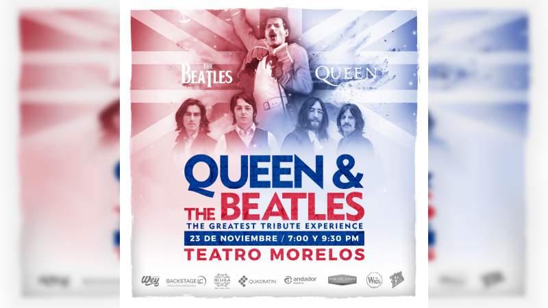 Realizarán Tributo a Queen y The Beatles en Morelia