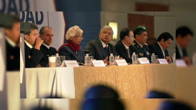 Presenta AMLO el Plan Nacional de Paz y Seguridad