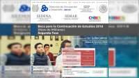 Abierta la convocatoria para beca de continuación de estudios 2018