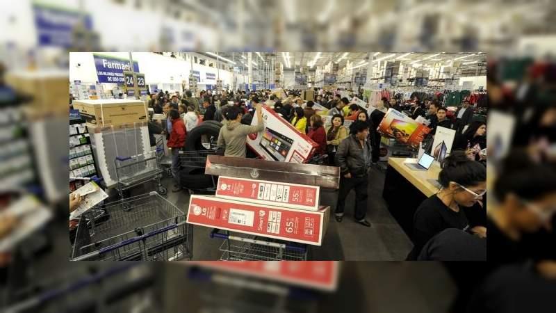 Mexicanos gastarán de 3 mil a 5 mil pesos en El Buen Fin