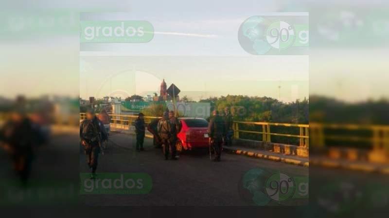 Cae presunto narcomenudista y 50 remitidos a barandilla en La Piedad y Apatzingán