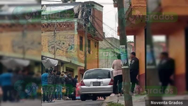 Lo ejecutan en taller de motos en Moroleón, Guanajuato