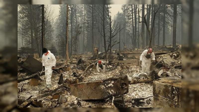 63 muertos y 631 desparecidos en megaincendio en California