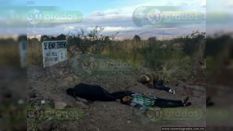 Localizan a tres ejecutados en calles de Acapulco, Guerrero
