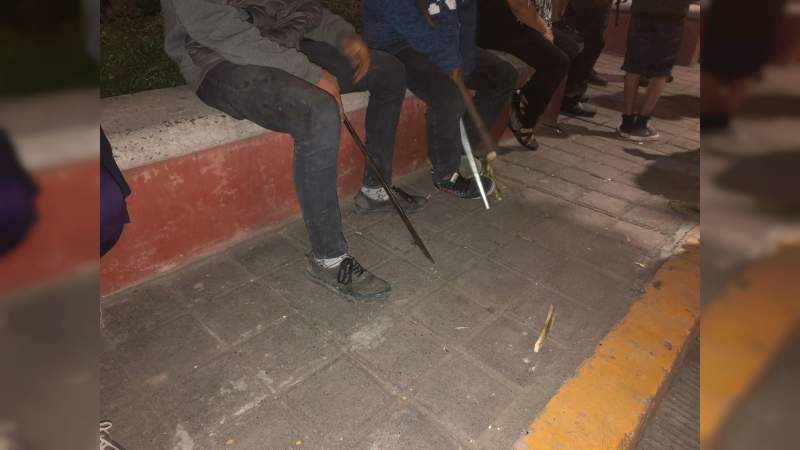 Tensa situación en Indaparapeo, pobladores tratan de linchar a presunto violador